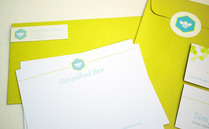 Simplified Bee Brand Identity - Stationery.jpg
