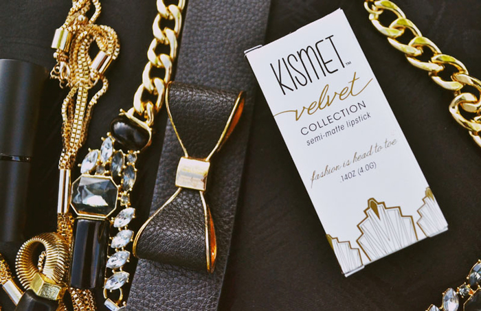 Kismet Cosmetics Lipstick Packaging by Ciera Design 1