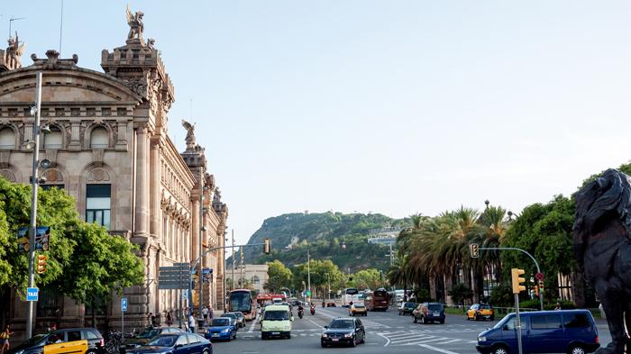 Passeig-de-Colom-Barcelona-Spain