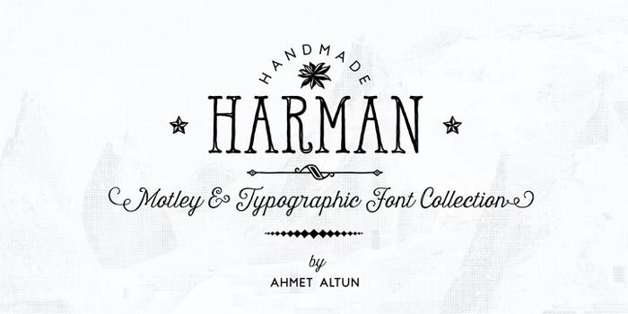 Harmon-Font