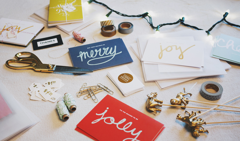 Holiday Card Prep