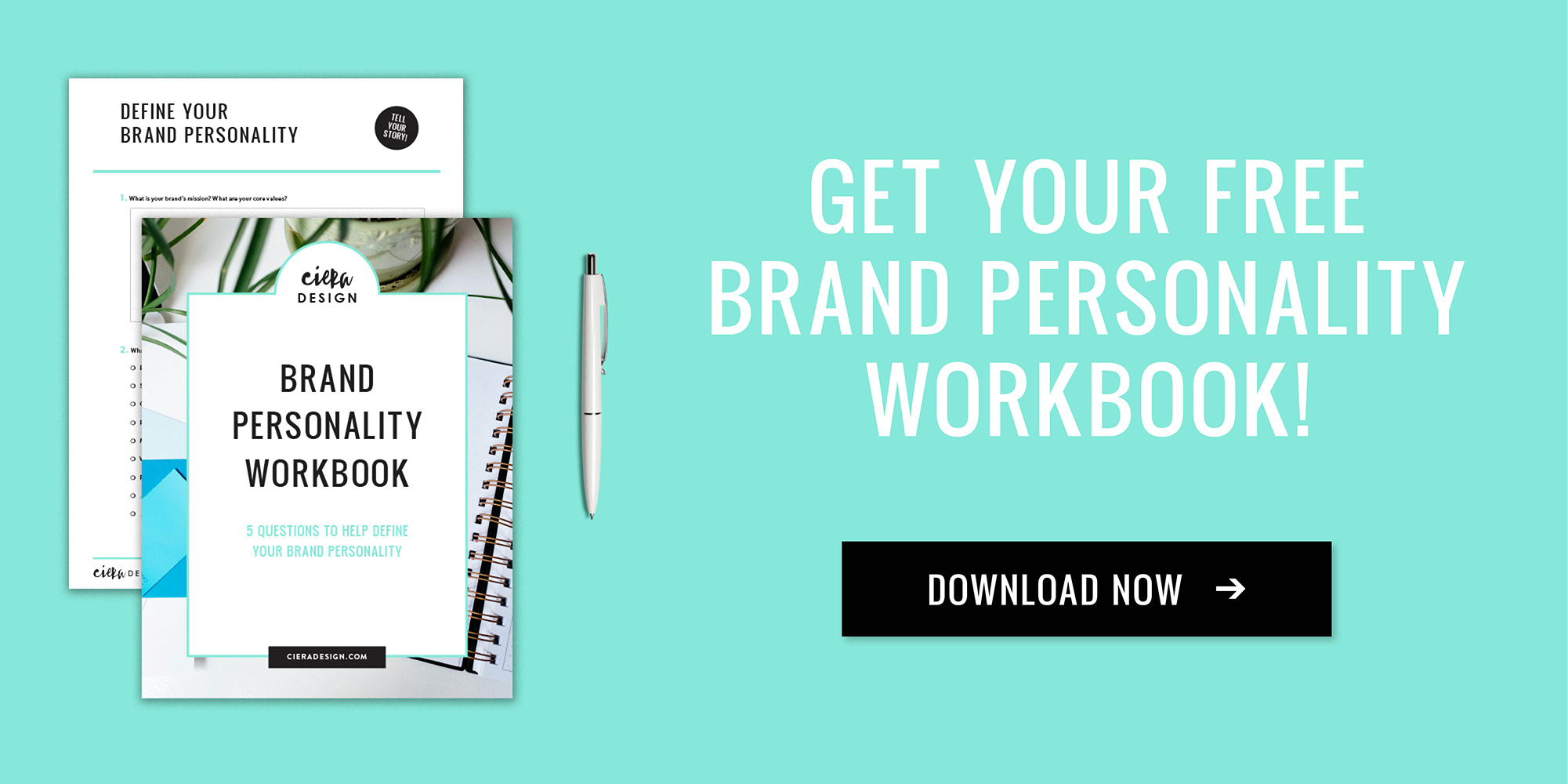 Get Your Free Brand Personality Workbook
