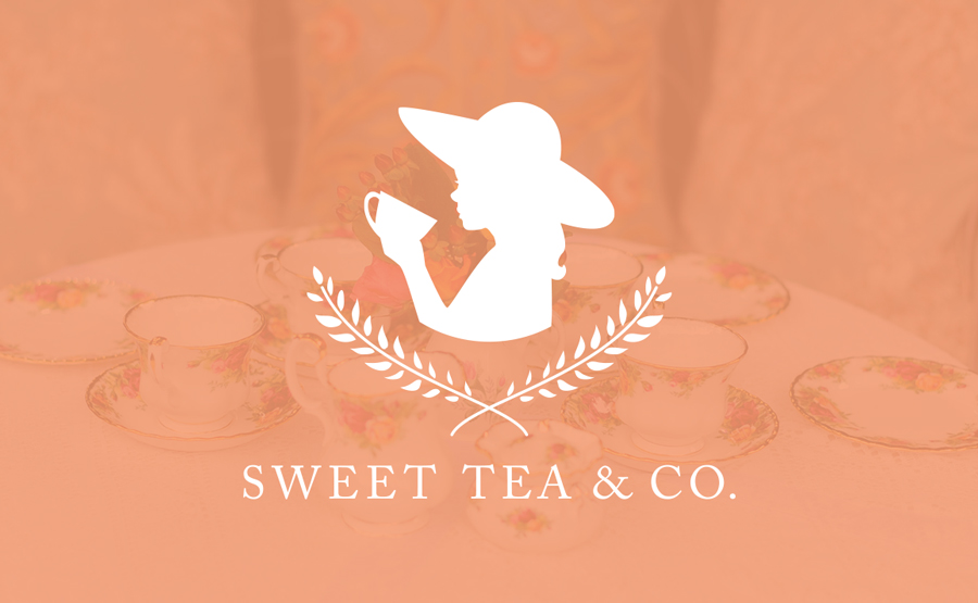 Branding for Sweet Tea and Co - Tea Parties for Young Girls