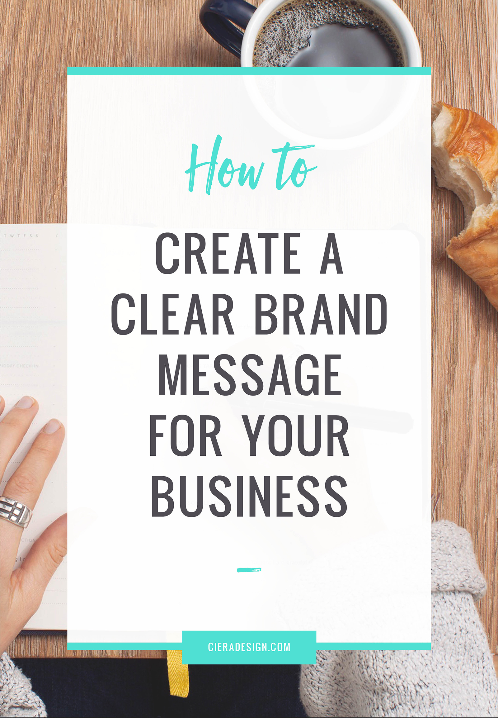 If you're wondering how to create a clear brand message for your business, then here are some top tips.