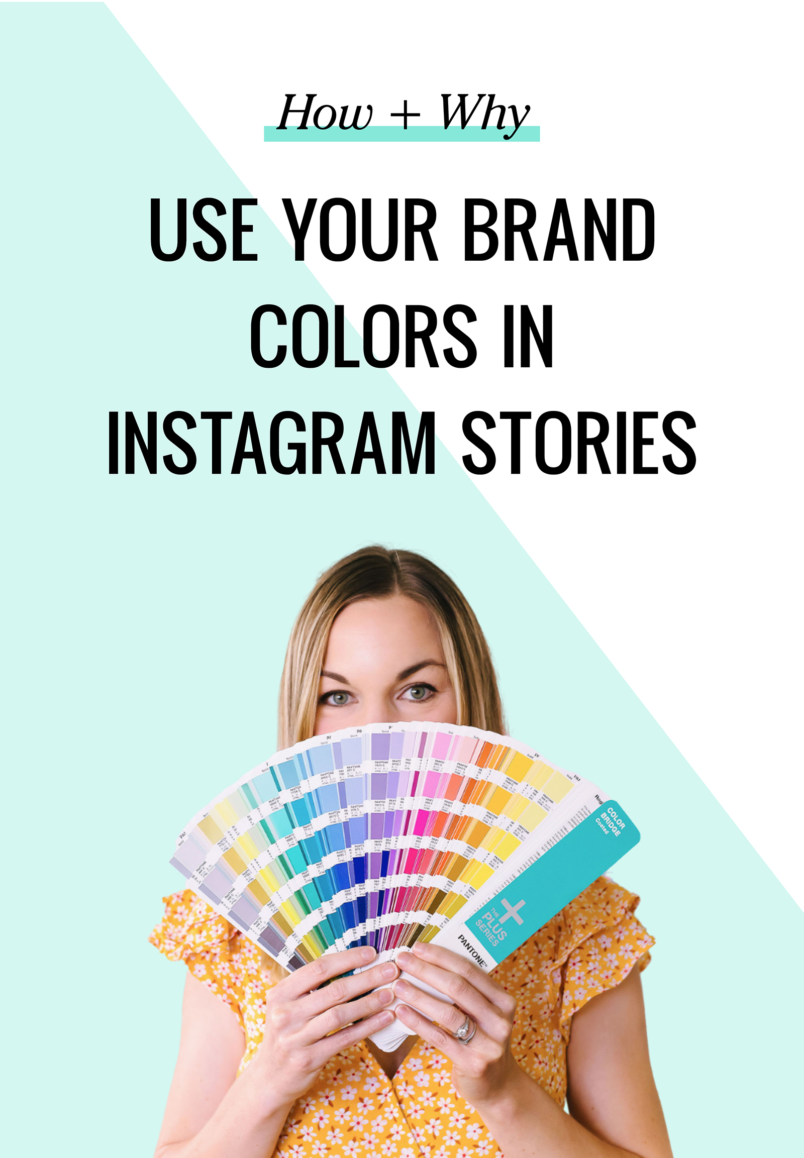 If you're using Instagram as a part of your business marketing plan you may find yourself focusing on your feed graphics but being a bit haphazard when it comes to stories. Your stories should use a strategy as well. Not only do you need a game plan for your story content, you should also consider the design.