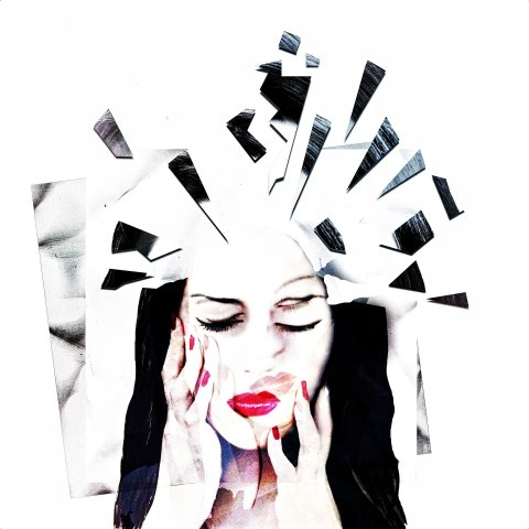 Mujer sufriendo dolor