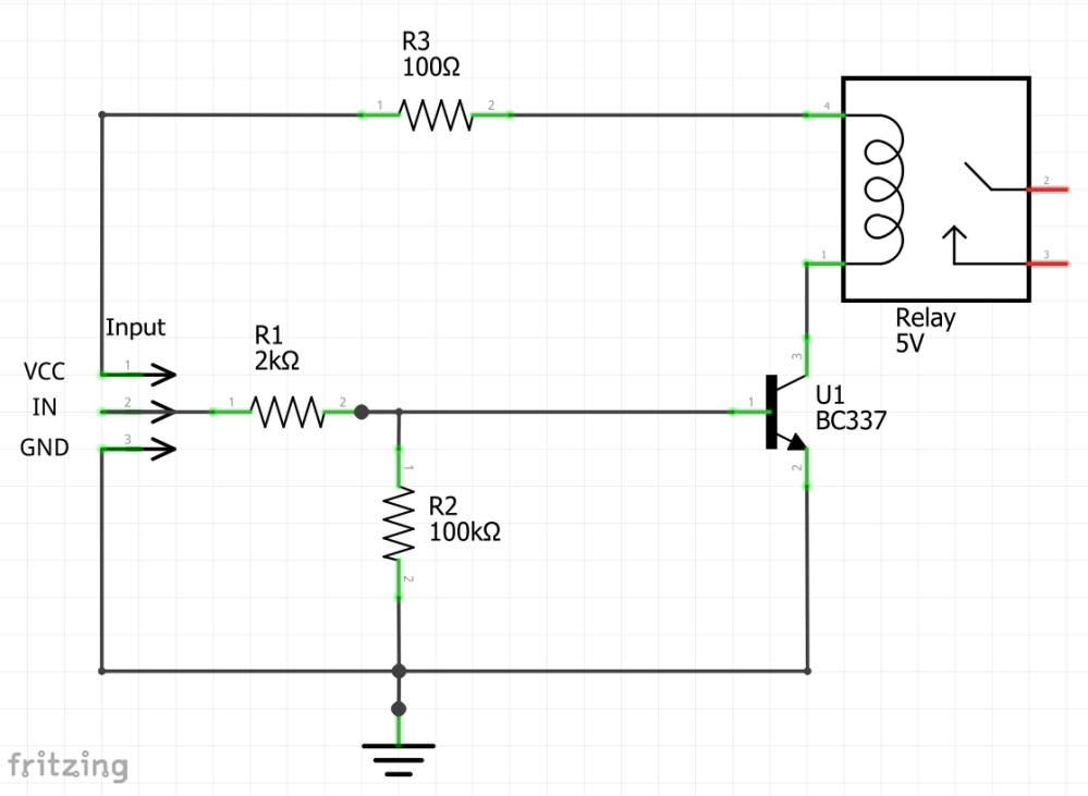 medium resolution of this circuit is for a 5v relay to be attached to an arduino nano the first version is a recommendation that i found on the internet