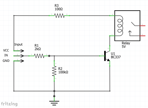 small resolution of this circuit is for a 5v relay to be attached to an arduino nano the first version is a recommendation that i found on the internet