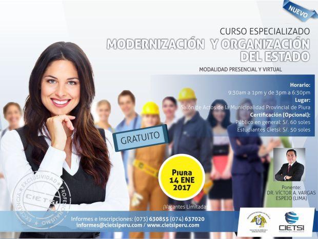 MODERNIZACIÓN Y ORGANIZACIÓN DEL ESTADO 4