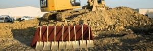 Groundbreaking construction image