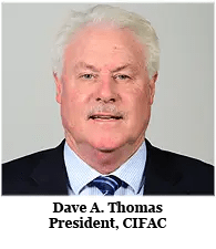 Dave A Thomas, President, CIFAC