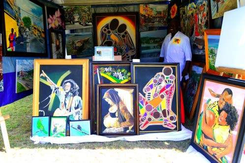 Popular Montego Bay Painter Andrew Duhaney