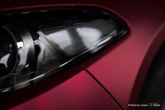 Alfa Romeo Giulia -Cherry Red - CiFol-Werbetechnik 02