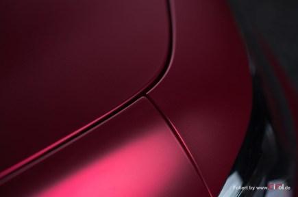 Alfa Romeo Giulia -Cherry Red - CiFol-Werbetechnik 06