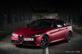 Alfa Romeo Giulia -Cherry Red - CiFol-Werbetechnik 10