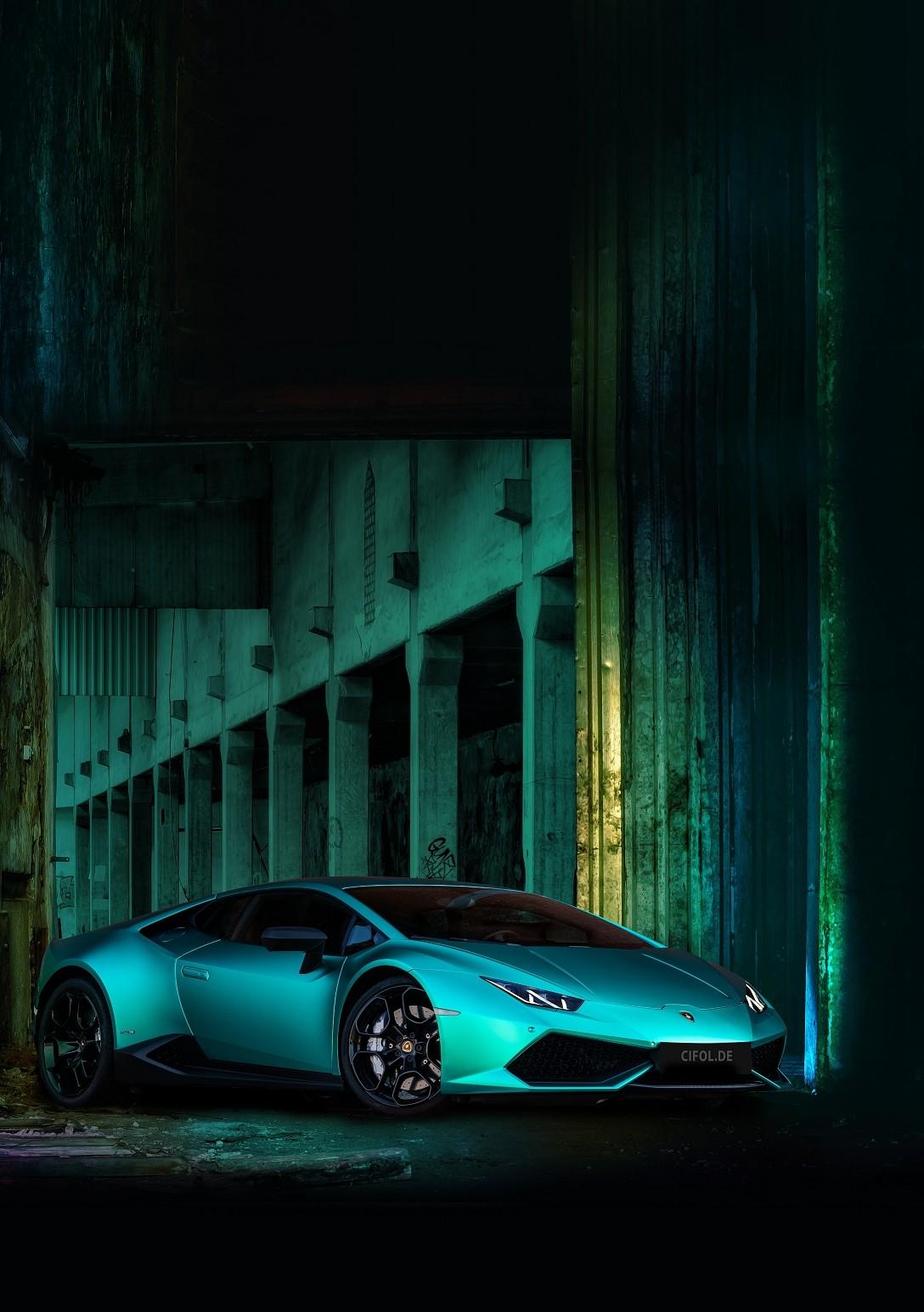 Lamborghini Huracan in Türkis