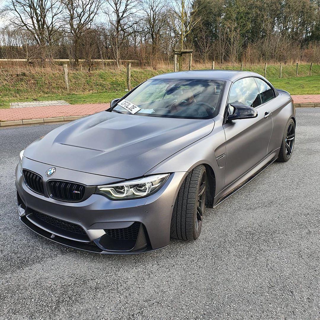 BMW M4 - Matte Dark Grey