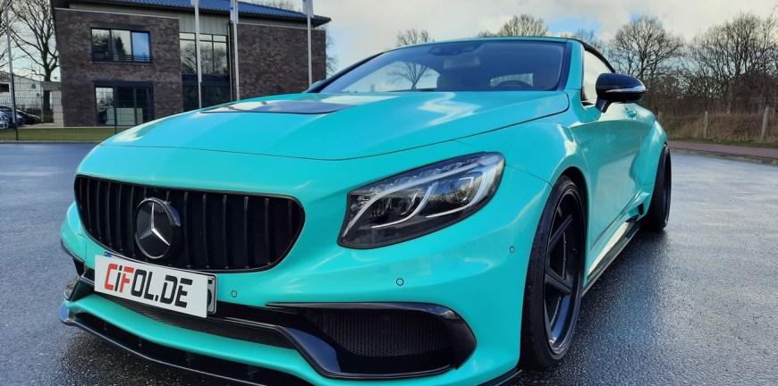 Mercedes Folierung