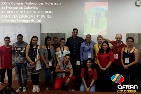 Approche Neurolinguistique de l'enseignement des langues au XXVIe Congrès national des professeurs de français de Colombie (ACLOPROF), Calí (05-2019)