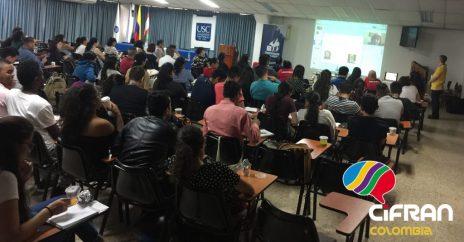 """CiFRAN, Conferencia Plenaria del XXVI Congreso Nacional de Profesores de Francés de Colombia (ACLOPROF), sobre el tema """"¿Es el enfoque neurolingüístico un enfoque comunicativo?"""", Universidad de Santiago de Calí, mayo de 2019"""