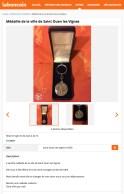 Annonce leboncoin médaille
