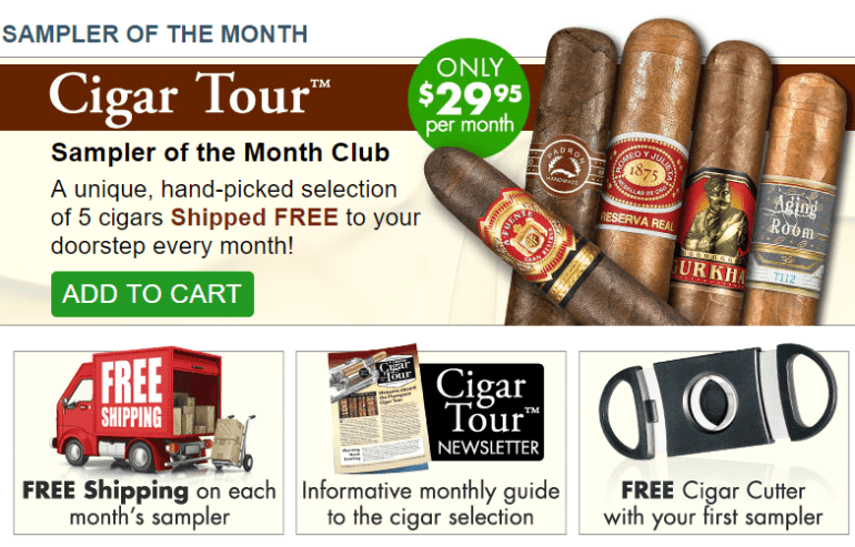 thompson cigar of the month club