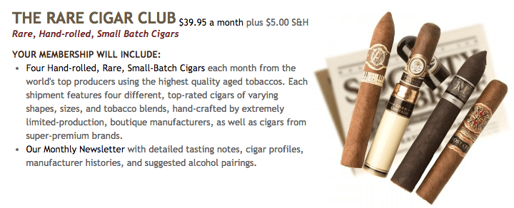rare cigar of the month club