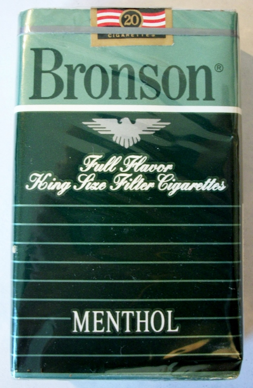 Bronson Full Flavor Menthol, Filter King Size