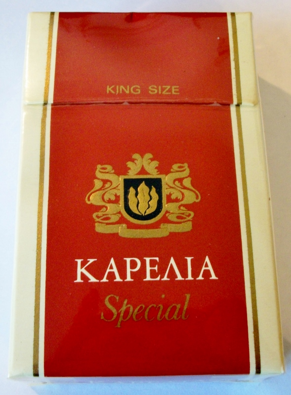 Karelia ΚΑΡΕΛΙΑ Special Filter - vintage Greek Cigarette Pack