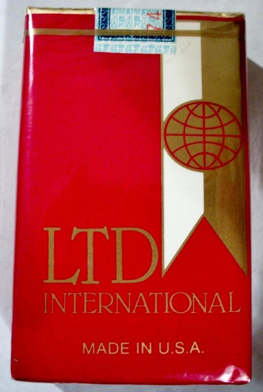 LTD International China - vintage American Export Cigarette Pack