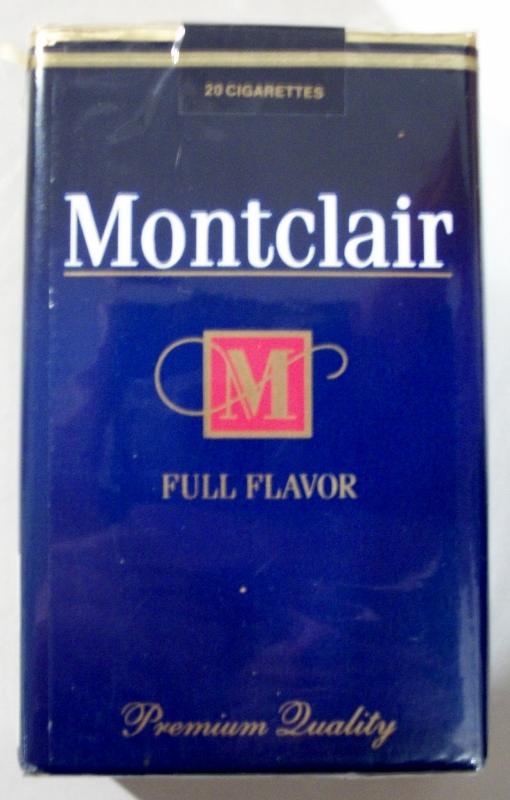 Montclair Full Flavor King Size - vintage American Cigarette Pack