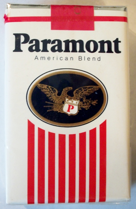 Paramont American Blend 85mm - vintage American Cigarette Pack