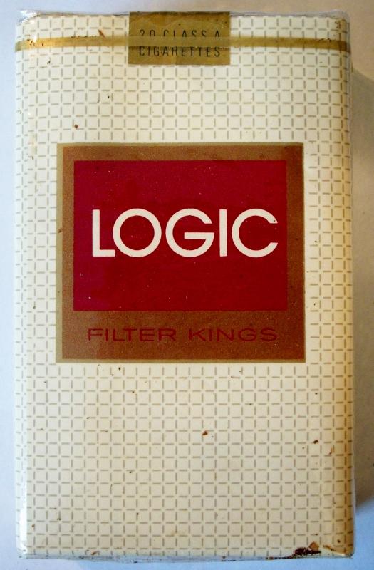 Logic Filter Kings - vintage American Cigarette Pack