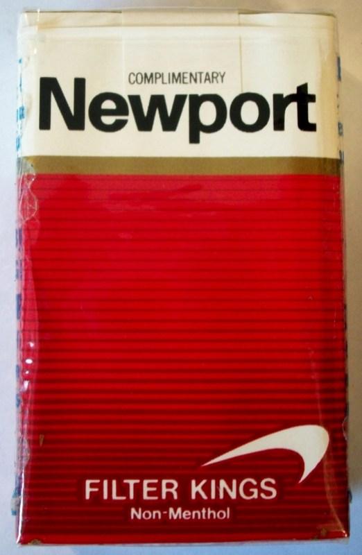 Newport Filter Kings Non-Menthol - vintage American Cigarette Pack