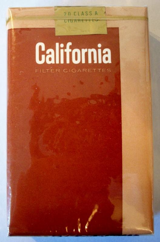 California king size - vintage American Cigarette Pack