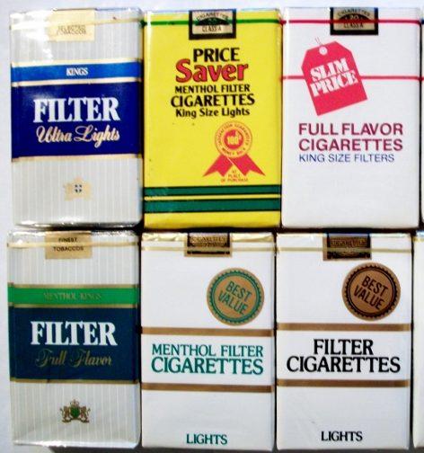 Make a Bundle - Generic Cigarette Packs