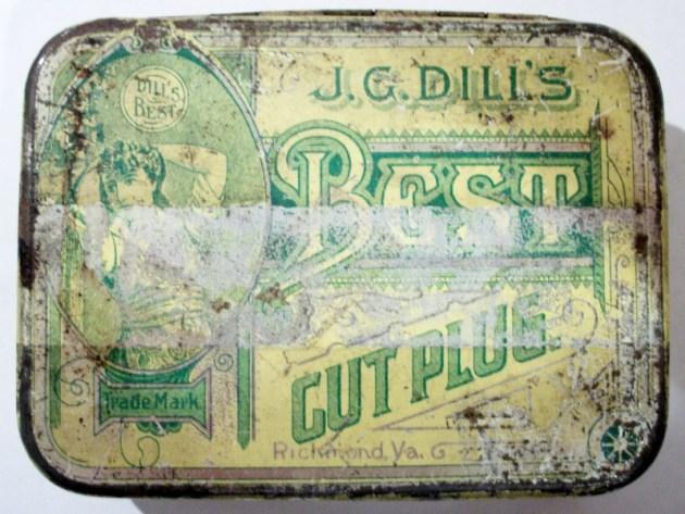 J. G. Dill's Best Cut Plug Cigarettes