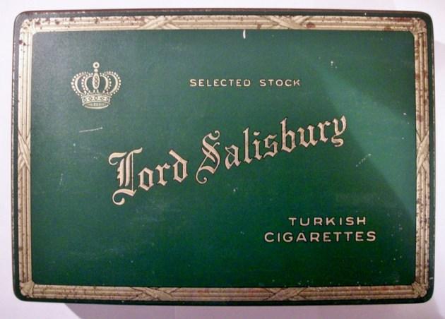 Lord Salisbury Selected Stock Turkish Cigarettes