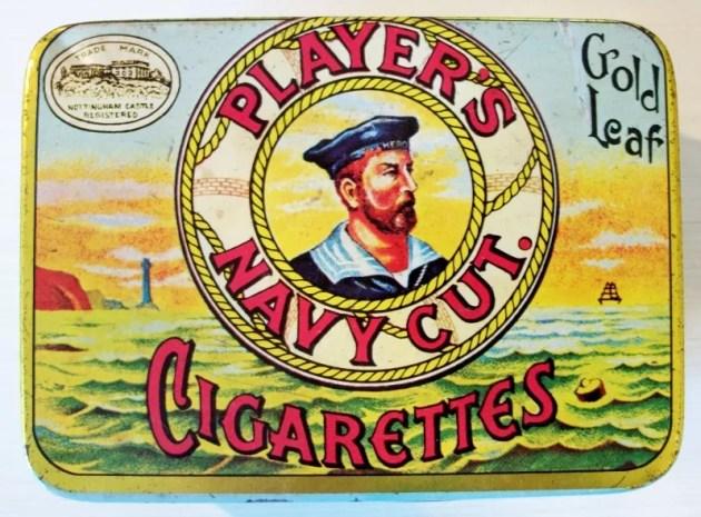 Player's Navy Cut Gold Leaf Cigarettes