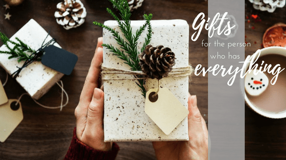 Christmas Gifts For Someone With Everything
