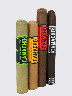Camacho 4-Wrapper Sampler image.