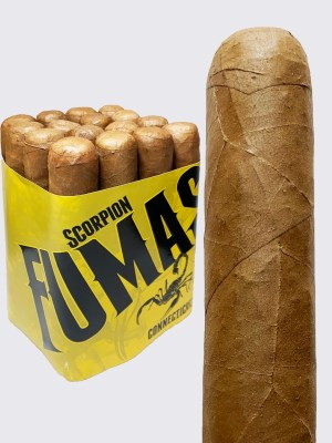 Camacho Scorpion Fumas Connecticut robusto