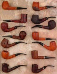 Mr.BROG CHURCHWARDEN SMOKING PIPE Nr.14 HAND MADE IN ...