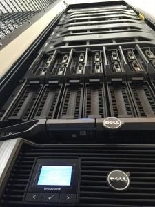 cigene cluster rack front