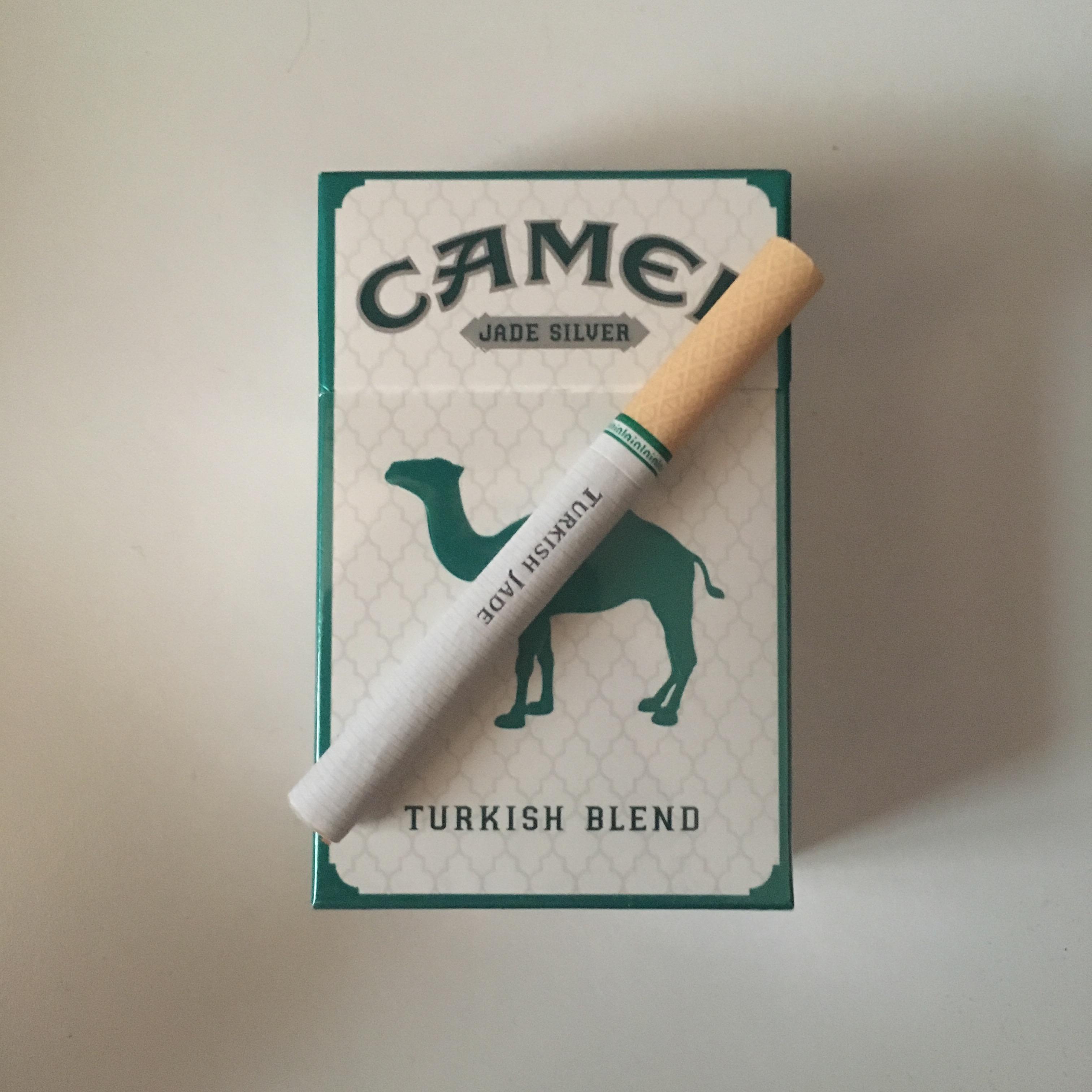 camel turkish jade silver