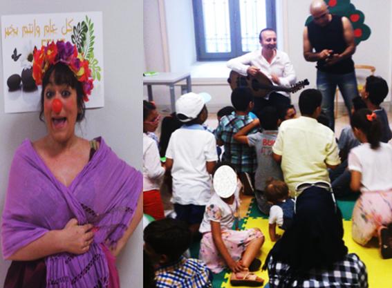 Fiesta para niños y de fraternidad para mayores