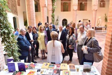 Inaugurada la I Feria del Libro Hispanoárabe Badajoz 5