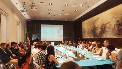 Mesa de la reunión CIHAR 2018