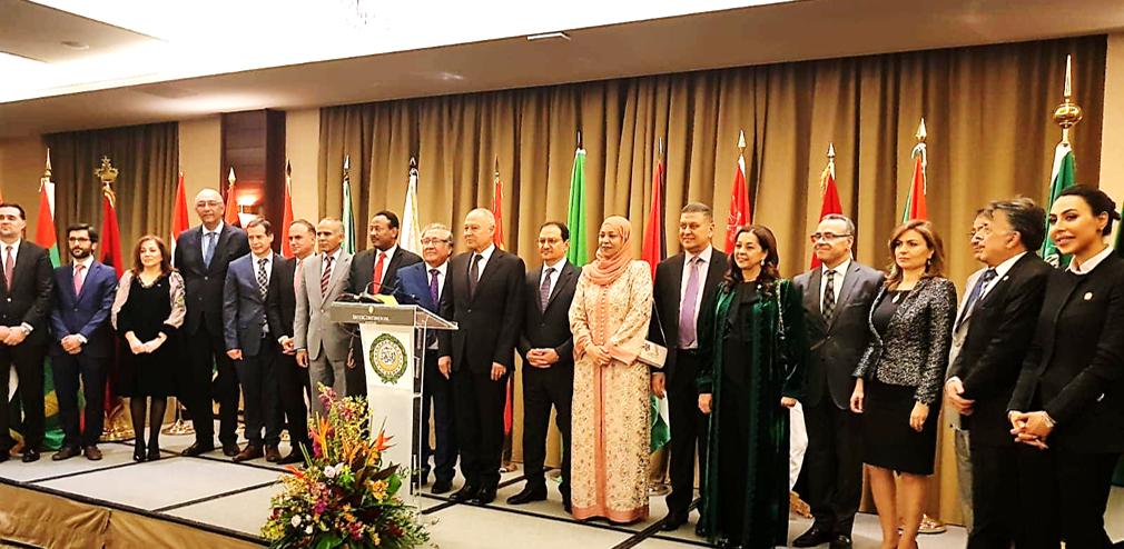 اليوم العربي في مدريد يحي الذكرى الرابعة والسبعون لتأسيس جامعة الدول العربية