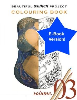 Beautiful Women Project Colouring Book – Volume 3 (E-book)